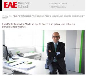 EAE Business School Luis Pardo Cespedes Sage