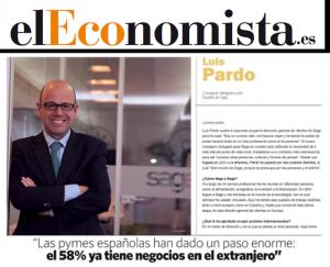 Entrevista Luis Pardo Sage en El Economista